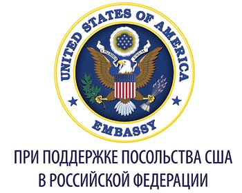 Логотип посольства США в РФ